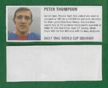 Liverpool Peter Thompson England DM70